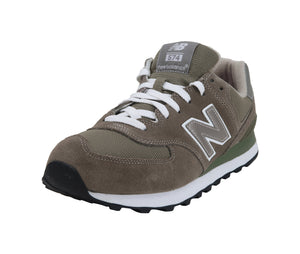 New Balance 574 Gray/White Men's Shoes