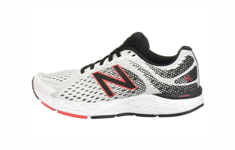 New Balance 680 Light Grey/Black Men's Shoes