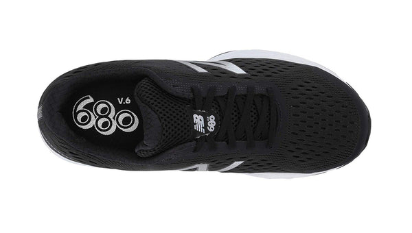 New Balance 680 Black/White Men's Shoes
