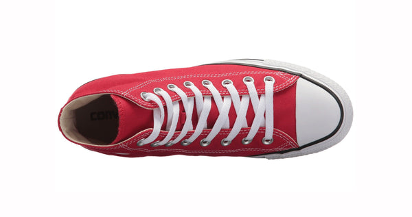 Converse All Star Red Hi Top Unisex Shoes