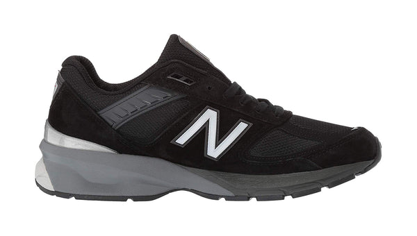 New Balance 990v5 Wide Width Black/Gray Men's Shoes