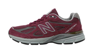 New Balance 990v4 Burgundy Men's RunningShoes