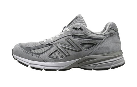 New Balance 990V4 Wide 4E Grey Men Running Shoes