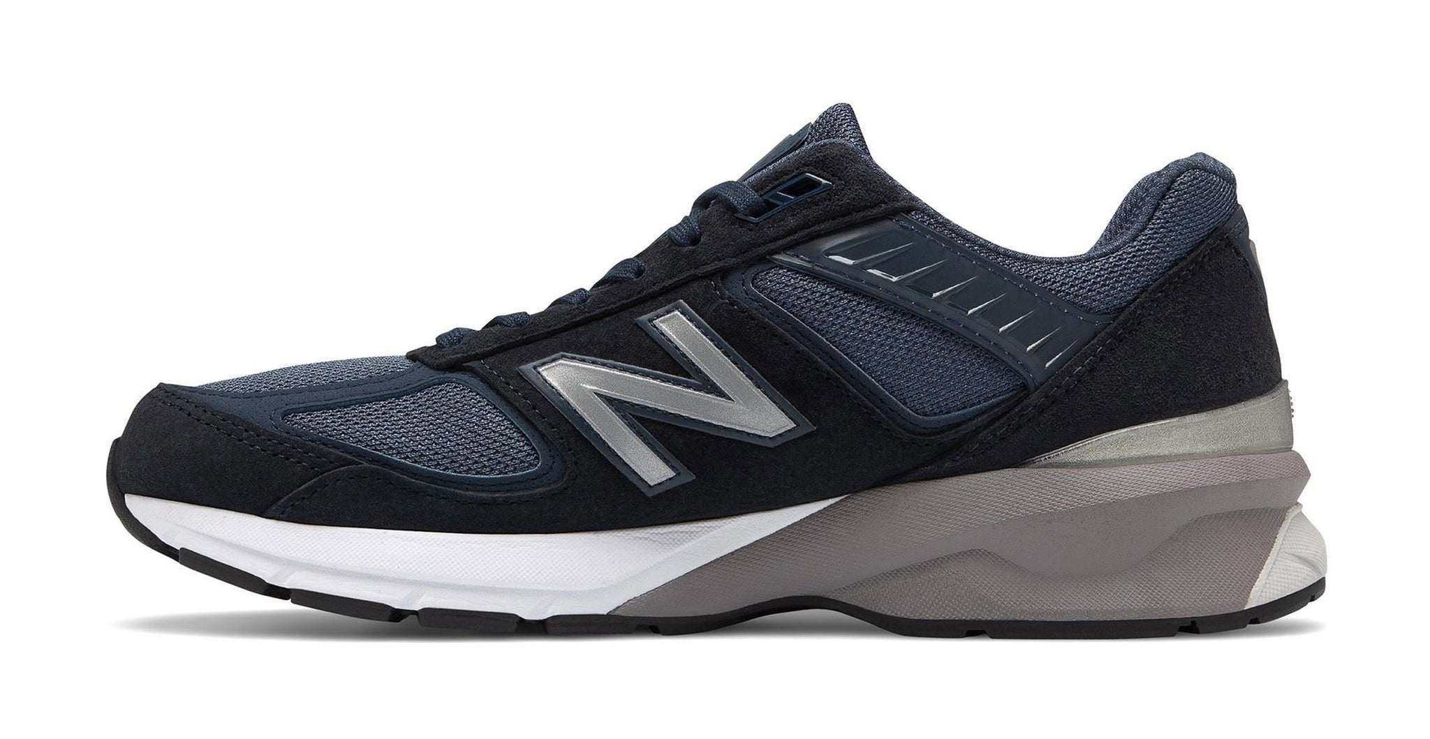 New Balance 990v5 Navy/White Men's Shoes