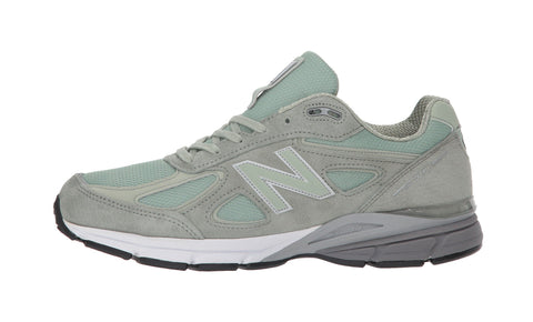 New Balance 990 Mint Green/Silver Men Shoes