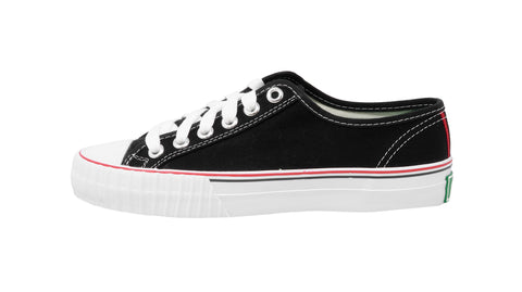 Pf-Flyers Black/White Center Low Top Unisex Shoes