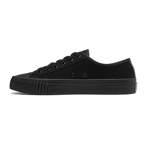 Pf-Flyers Black/Black Center Lo Top Men's Shoes