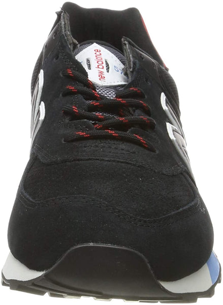 New Balance 574 Black/White/Red Men's Shoes