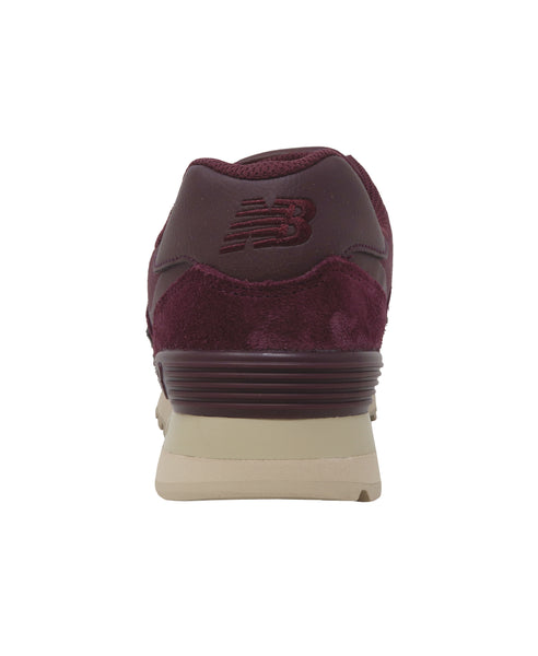 New Balance 574 Burgundy/Beige Men's Shoes