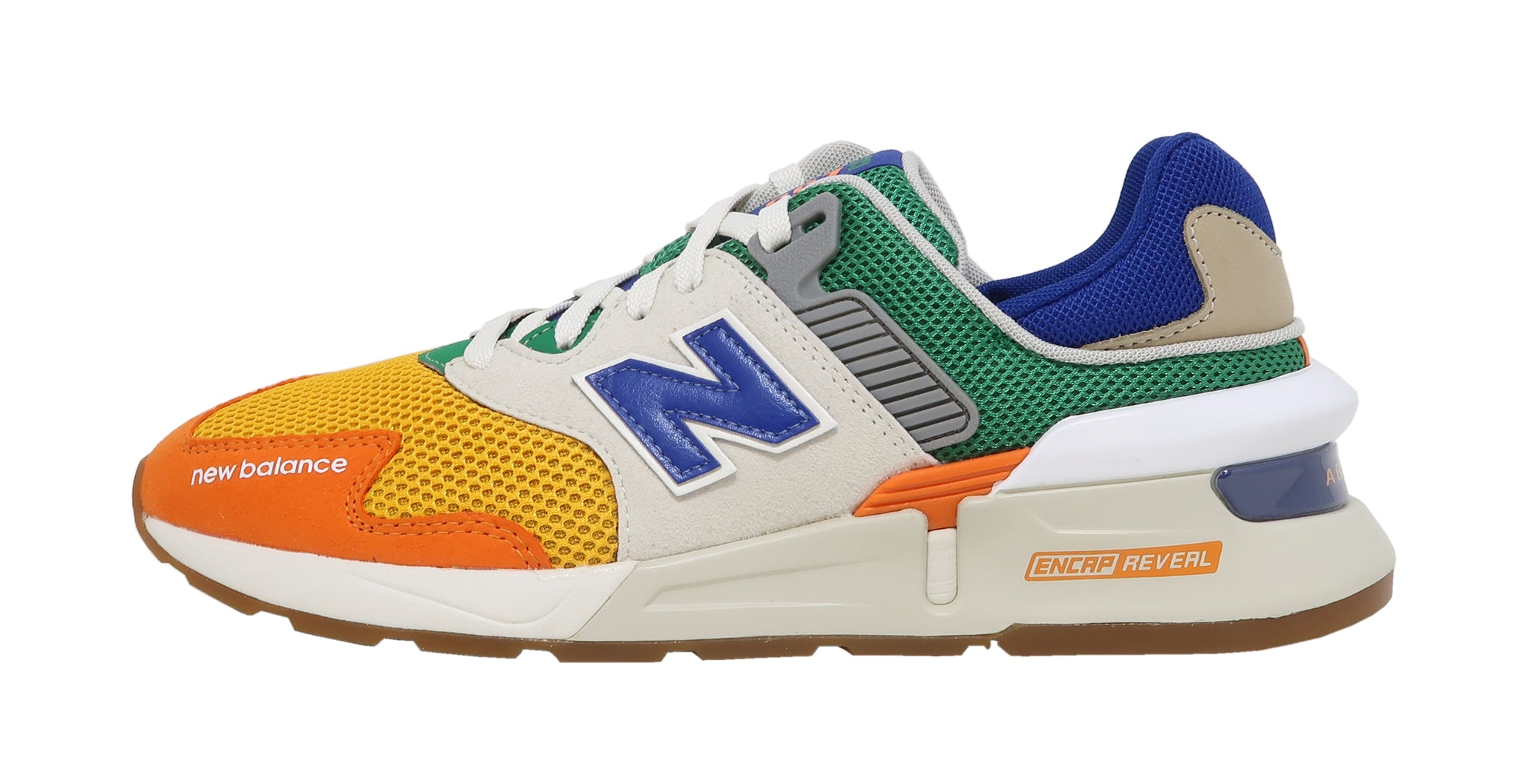 New Balance 997S Orange/Green Lifestyle Men Shoes