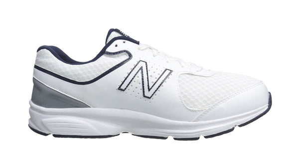 New Balance 411 2E Wide White/Navy Men's Shoes