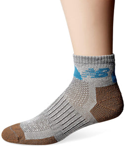 New Balance Technical Elite NBx Grey/Brown Ankle Men Socks