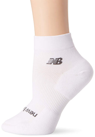 New Balance White Technical Elite Ankle Men Socks