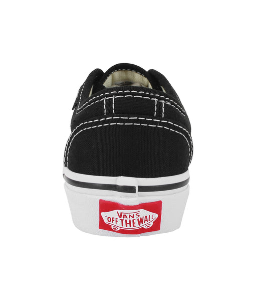 Vans 106 Vulcanized Black/White Kids Shoes