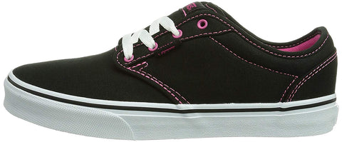 Vans Atwood Black/Pink Kids Shoes