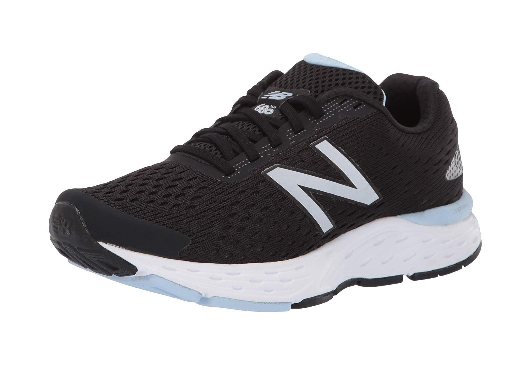 New Balance 680 Black/White Women's Shoes