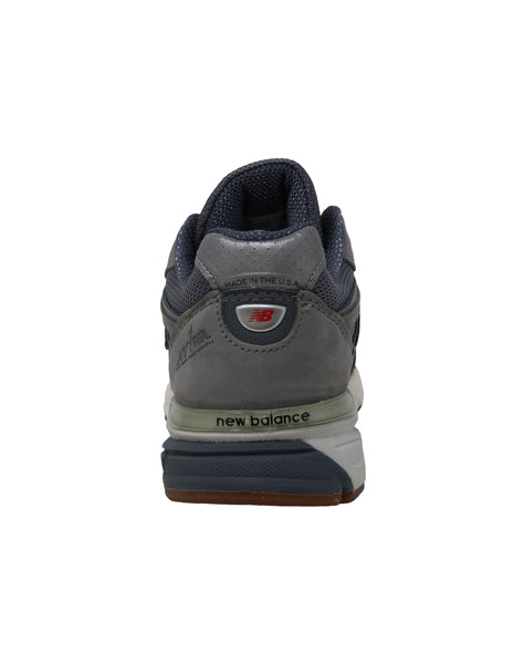 New Balance 990 Dark Grey/Gum Women's Shoes