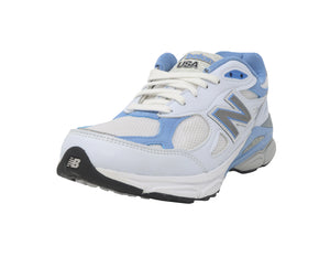 New Balance 990 White/Blue/Black Women's Shoes