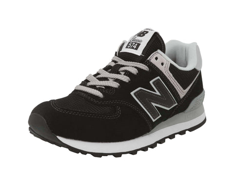 New Balance 574 Black/White Women's Shoes