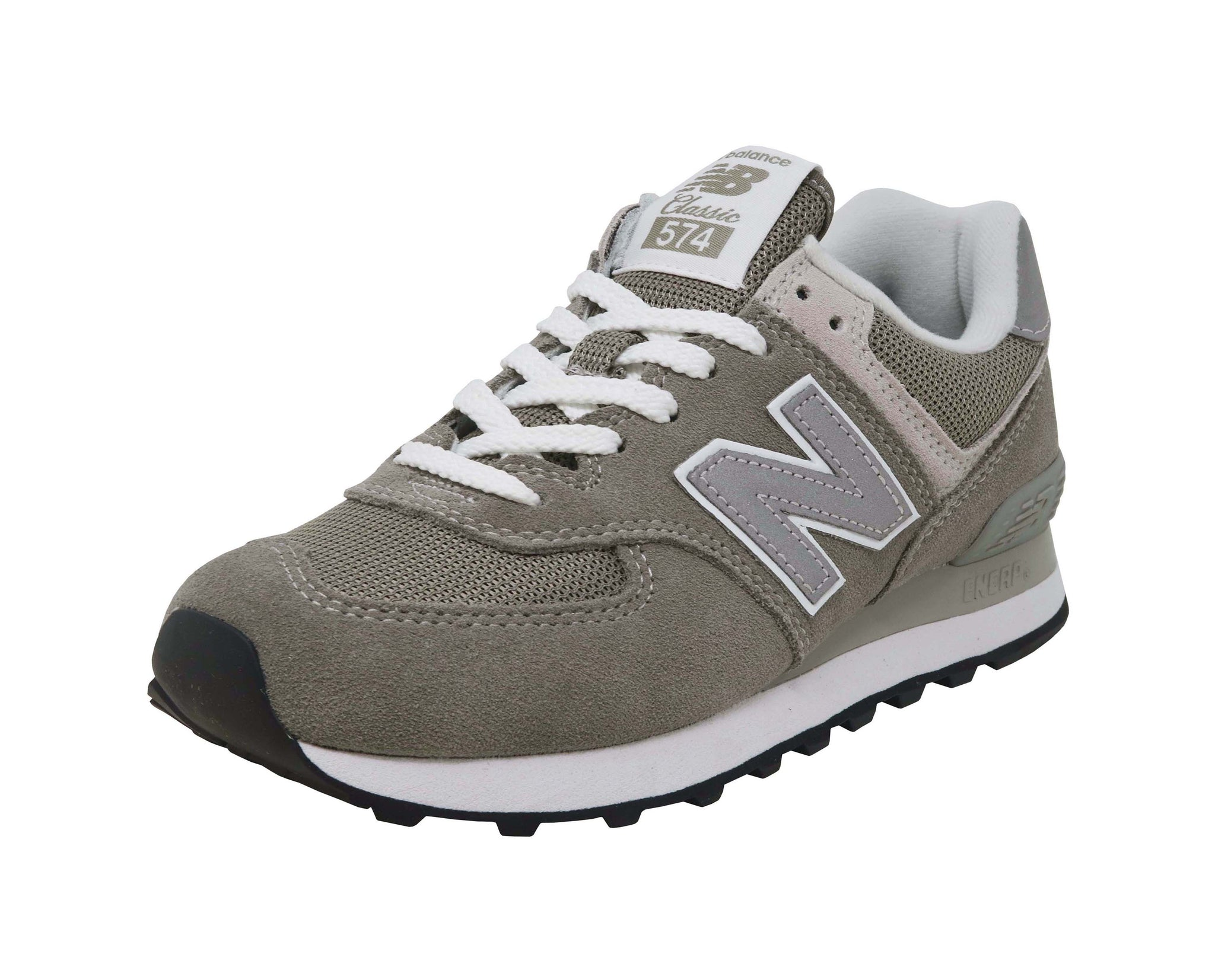 New Balance 574 Grey/White Women's Shoes