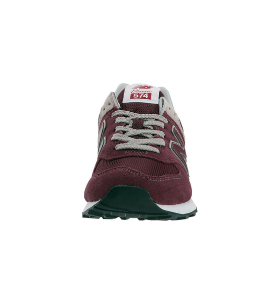 New Balance 574 Maroon/White Women's Shoes