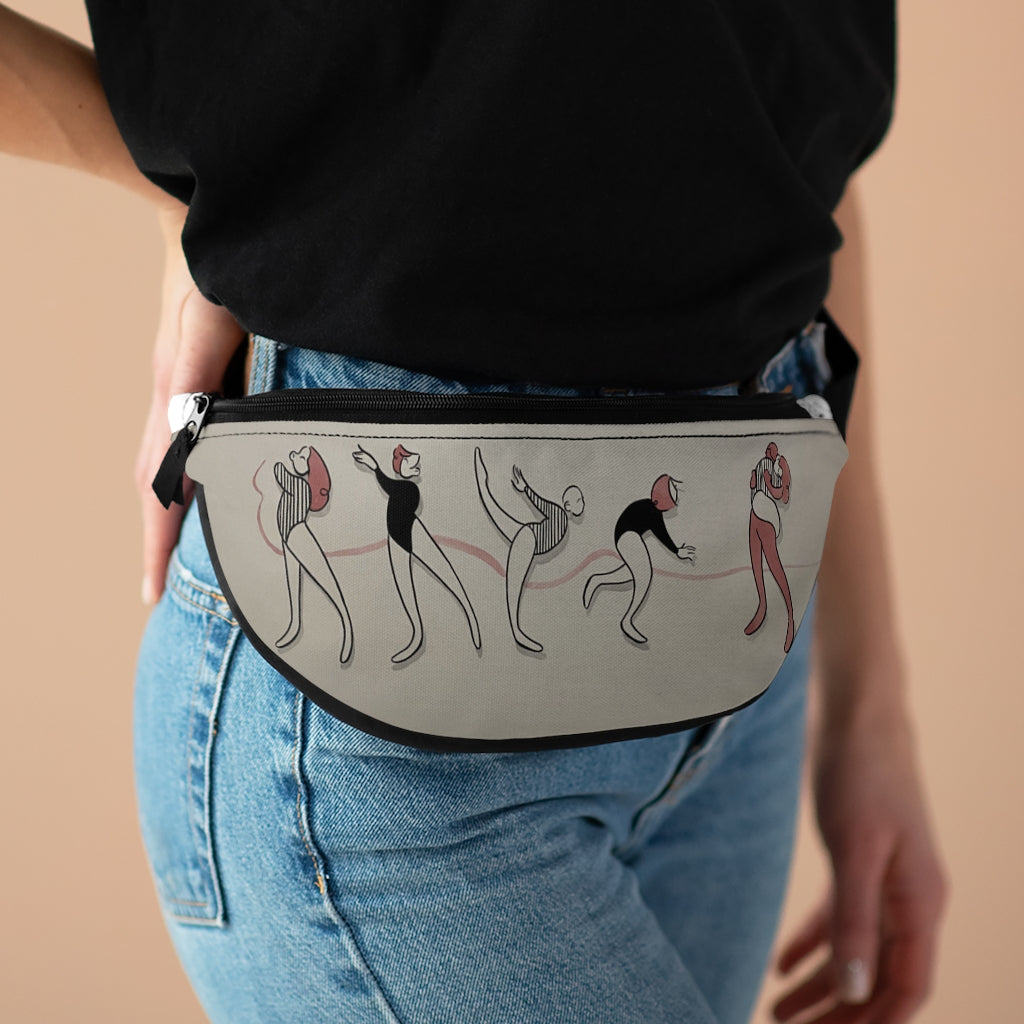 Fanny Pack designed by Elya Stumbaugh inspired by Ava Blaser