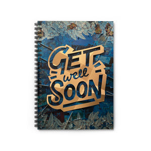 Spiral Notebook - Ruled Line Designed by John Stumbaugh in honor of Inspiration Kathleen Brown