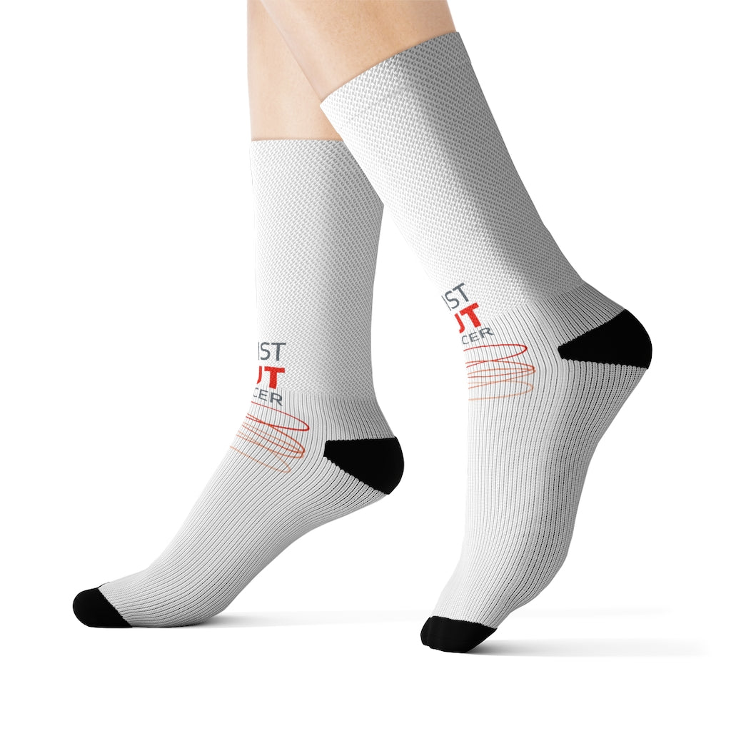 Twist Out Cancer Sublimation Socks
