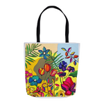 "Tote Bag- ""Growth"" by Brushes with Cancer Artist, Jacqueline Carmody"
