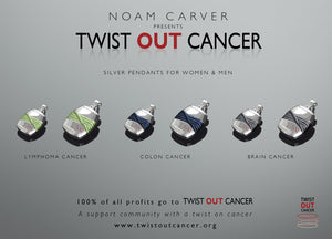 Twist Out Cancer Pendant