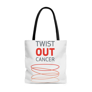 Twist Out Cancer Tote Bag