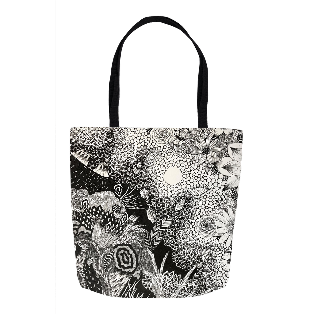 "Twist Out Cancer Tote Bags ""Lighter Times"""