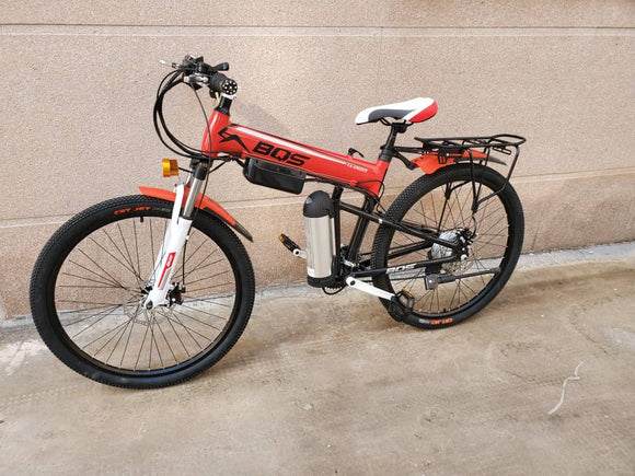 Quality Mountain Electric Bike 250W 26 inch Al Alloy 36V Li-Ion Low Budget Price foldable frame
