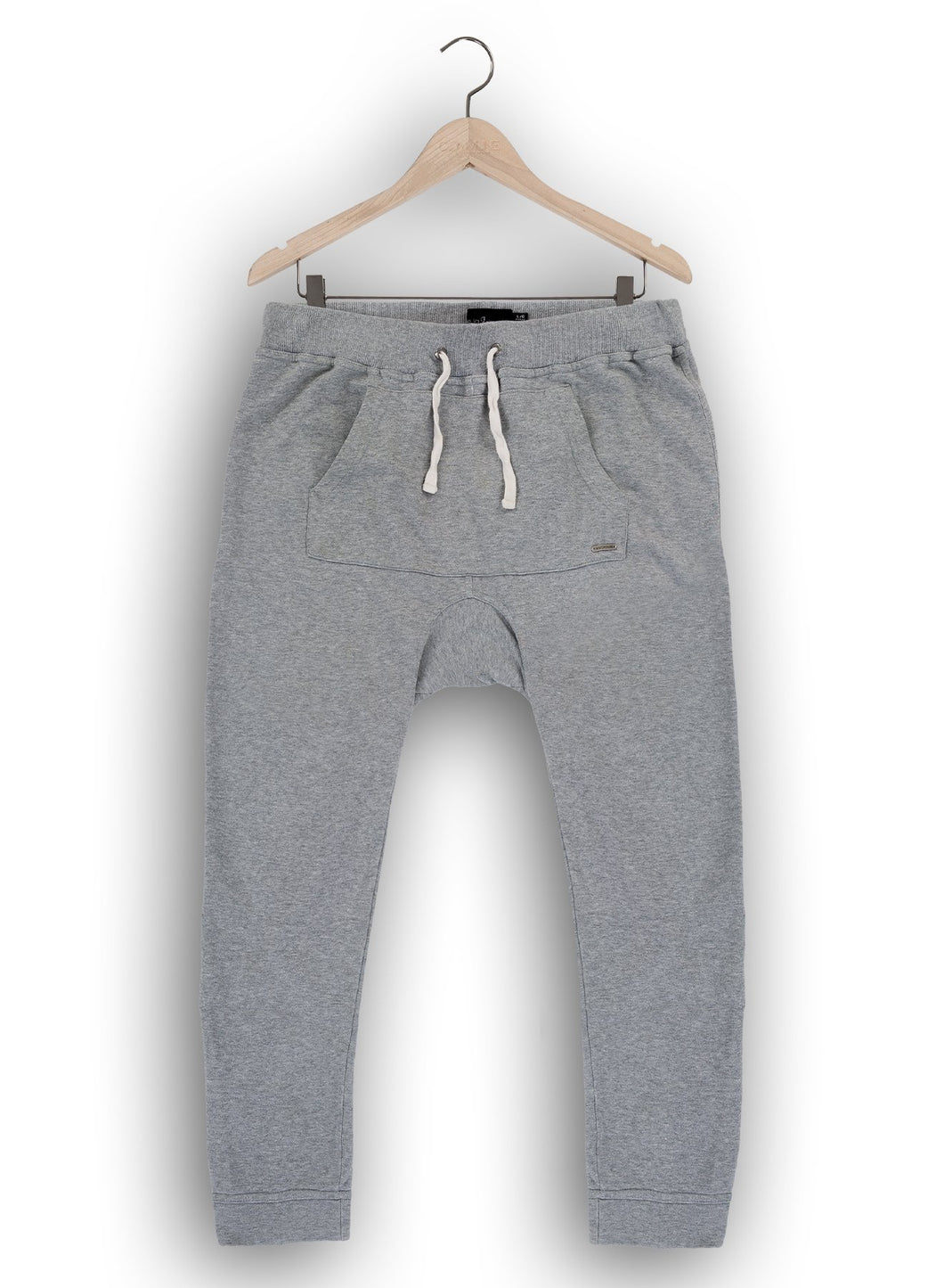 Jasper kangaroo sweatpants in heather grey
