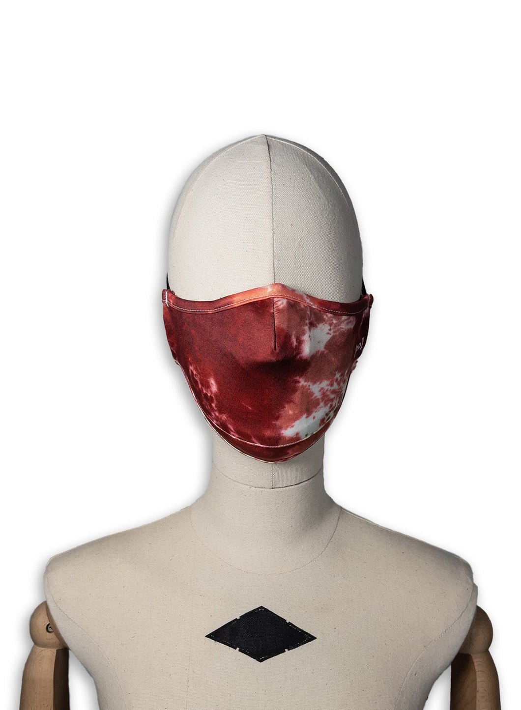 Scuba Filter Mask / Red Tie Dye