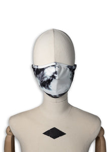 Scuba Filter Mask / White Tie Dye