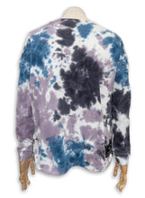 Load image into Gallery viewer, Bobbie Sweatshirt / Lavender Frost Tie Dye