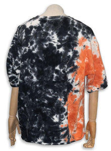 Yao French Terry Tee / Coral Tie Dye