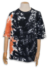 Load image into Gallery viewer, Yao French Terry Tee / Coral Tie Dye