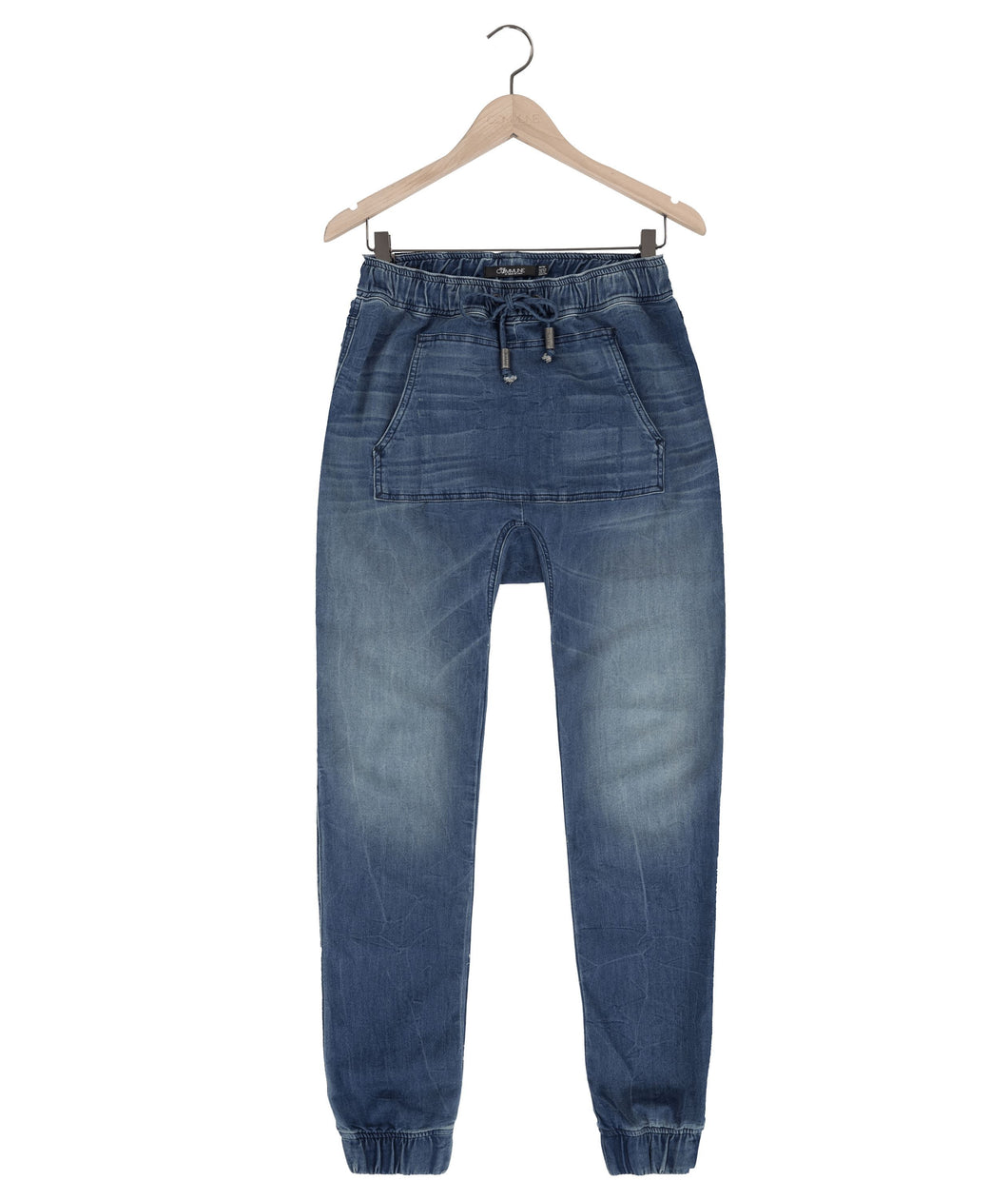 Jasper kangaroo jeans in avatar blue Bottom DE LA COMMUNE