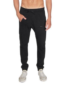 Jasper kangaroo sweatpants in black Bottom DE LA COMMUNE