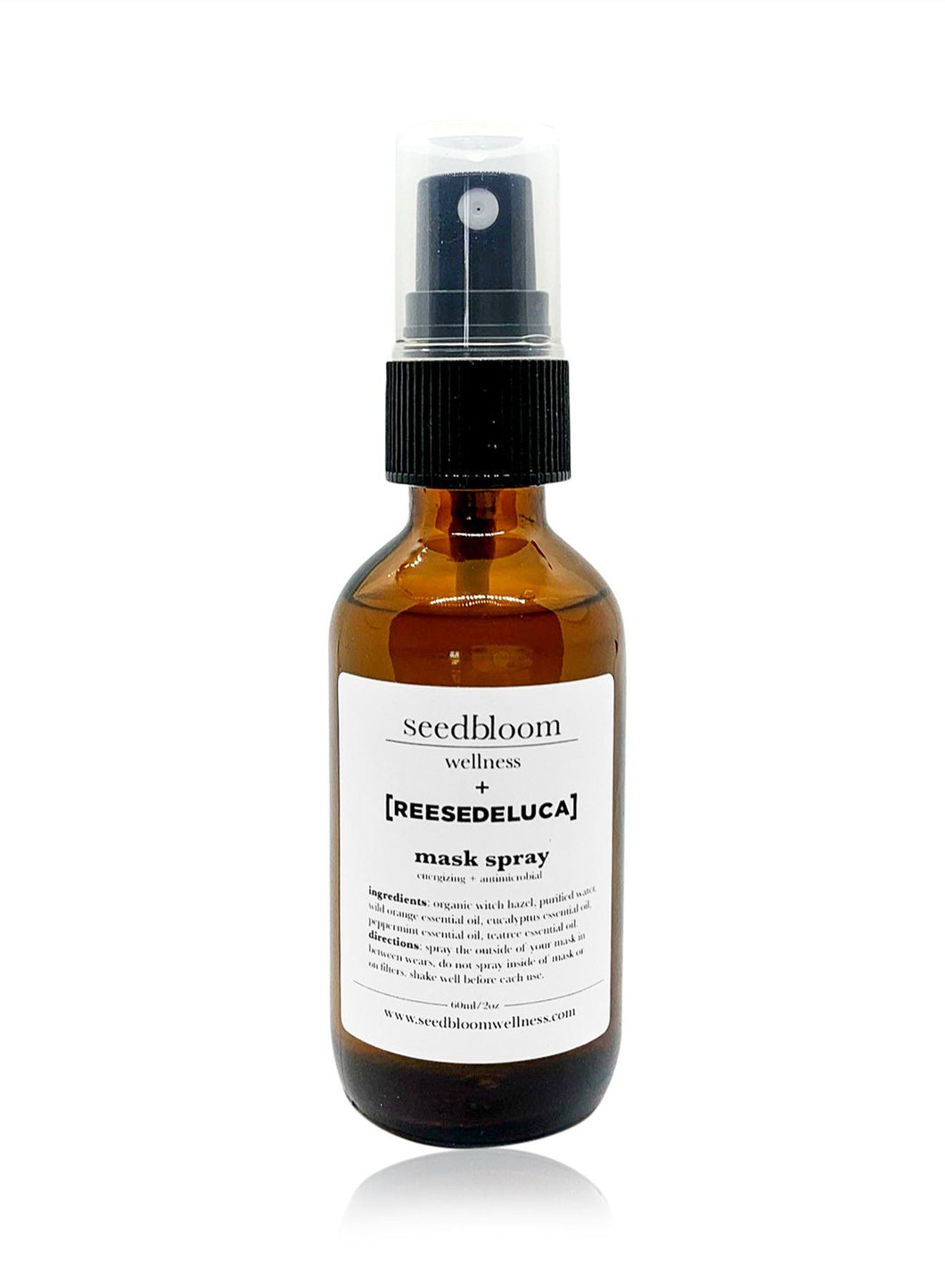 Organic Spray for Masks, Body and Rooms Skincare Seedbloom Wellness