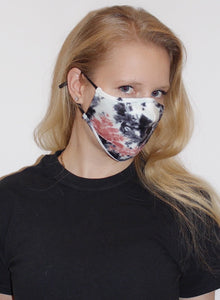 Scuba Face Covering with 7 Filters - Black Face Mask by REESEDELUCA