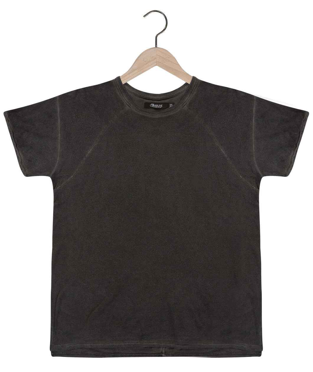 Tigran bamboo tee in graphite grey Top DE LA COMMUNE