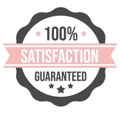 satisfaction guaranteed icon for our holistic skincare