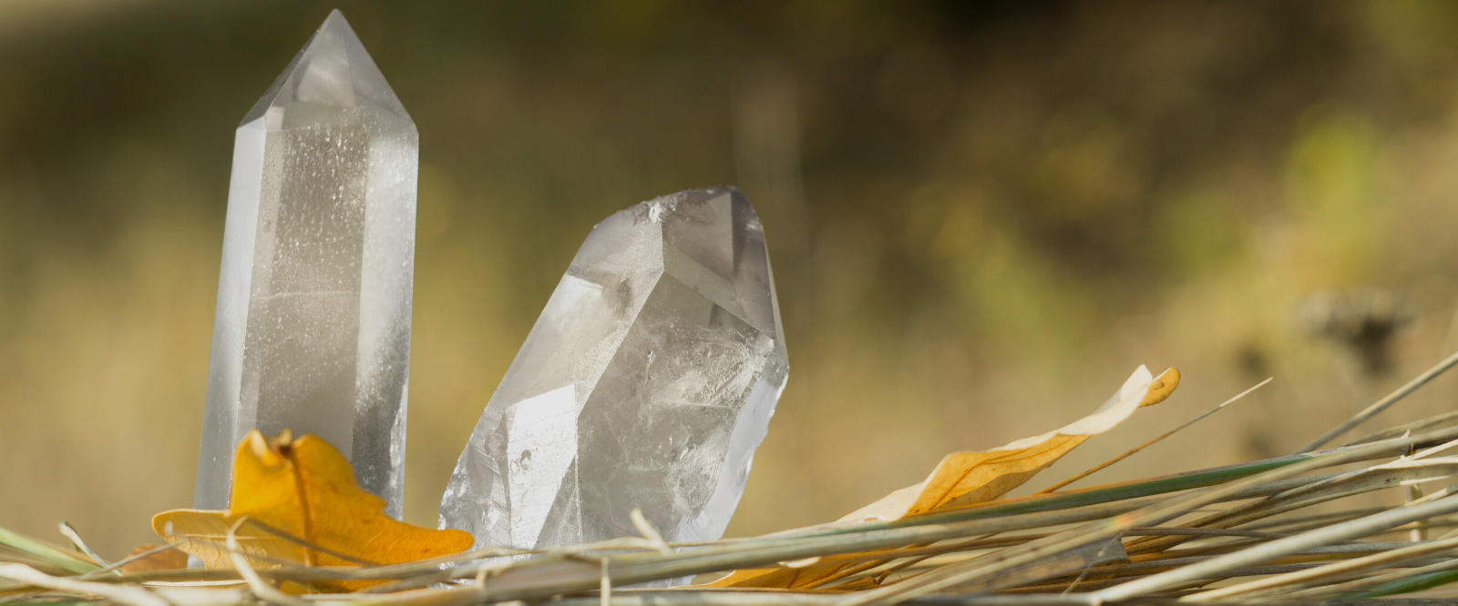 quartz crystals used in organic aromatherapy sprays