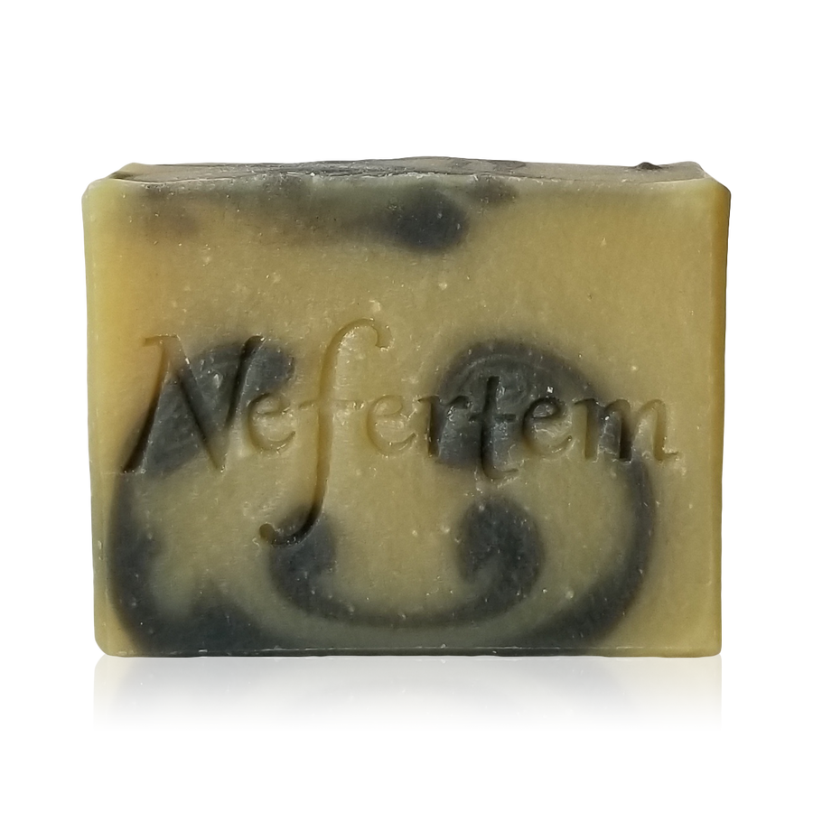 lemongrass scented natural soap