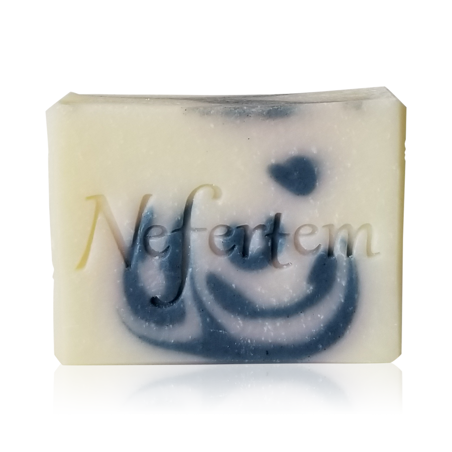 natural mint soap with essential oils