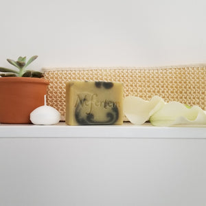 natural soap with essential oils