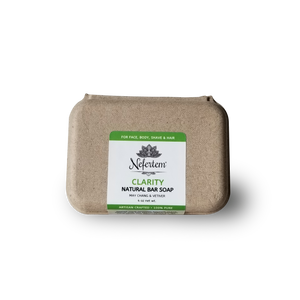 natural soap bar with organic ingredients